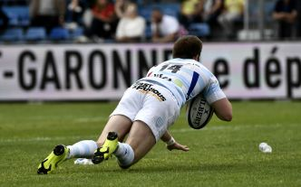 Top 14: le Racing s'assure un barrage à domicile