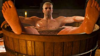 The Witcher 3 : La figurine de Geralt 100% relax se précommande