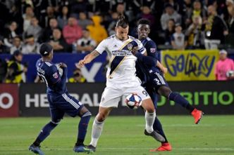 Foot - MLS - MLS : malgré un but de Zlatan Ibrahimovic, le Los Angeles Galaxy perd encore