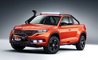 Skoda Mountiaq Concept : Le Kodiaq se change en pick-up