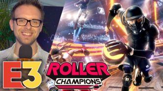 E3 2019 : On a joué à Roller Champions, quand Rocket League rencontre NBA Jam