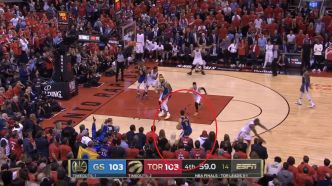 Basket - NBA - Top 5 : Curry et Thompson coulent Toronto