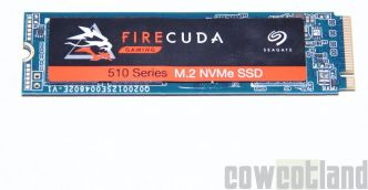 Test du SSD FireCuda 510 1 To signé Seagate
