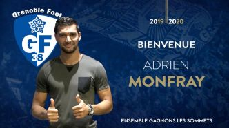 Mercato Grenoble : Adrien Monfray débarque au GF38 (Officiel)