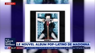 Le nouvel album pop-latino de Madonna