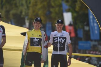 "Route : Geraint Thomas : ""Sans Froome, nous restons forts"" #Thomas #TeamINEOS #Froome #Bernal #TDF2019"