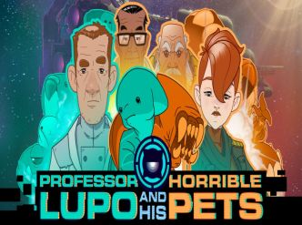 Professor Lupo and his Horrible Pets daté…