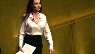 "Angelina Jolie, journaliste au ""Time"""