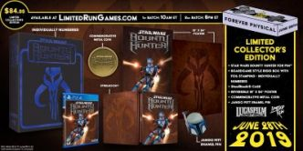 Star Wars : l'édition collector PS4 de Bounty Hunter et les cartouches NES et Game Boy de Limited Run Games se dévoilent en images