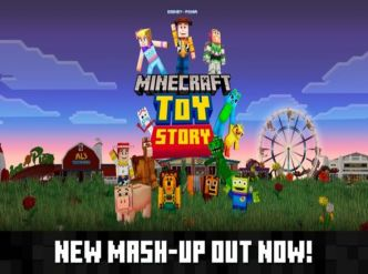 Minecraft, un pack Toy Story…