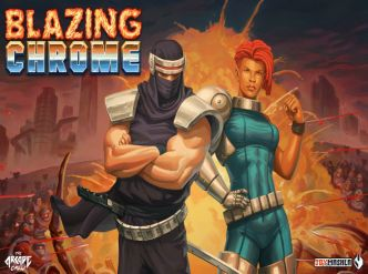 Blazing Chrome s'offre un trailer…