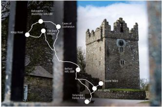Road Trip GoT : TomTom balise les principaux sites irlandais de la série Game of Thrones