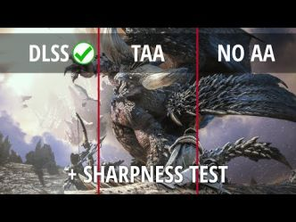 Comptoiroscope • Le patch DLSS de Monster Hunter: World fonctionne bien ?