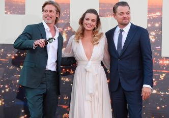 Brad Pitt, Leonardo DiCaprio, Margot Robbie : le tout-Hollywood réuni pour l'avant-première de « Once Upon A Time... In Hollywood »