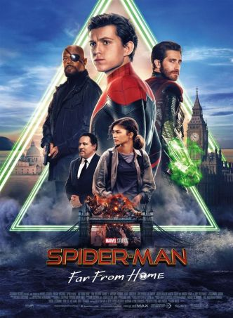 Critique Ciné : Spiderman : Far from Home (2019)