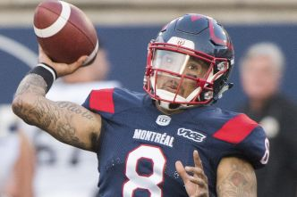 Vernon Adams absent contre les Roughriders