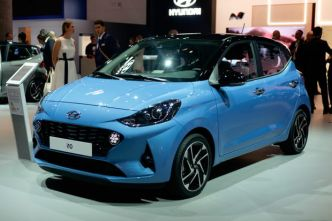 Les photos de la Hyundai i10 au Salon de Francfort