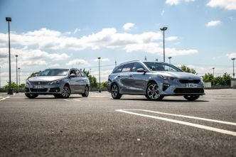 Comparatif - Kia Ceed SW VS Peugeot 308 SW : ambitieux outsider