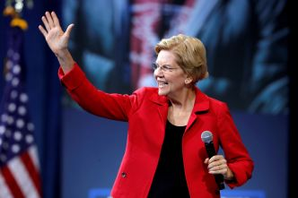 Elizabeth Warren collecte bien plus de fonds que son rival Joe Biden