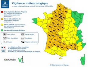 Orages : la vigilance orange étendue, 42 départements en alerte