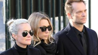 Exhumation de Johnny Hallyday : la main tendue de Laeticia à David et Laura