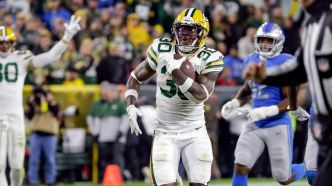 Green Bay bat Detroit à la dernière seconde