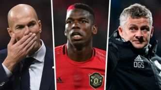 Manchester United - La réaction de Solskjaer à la photo de Zidane et Pogba