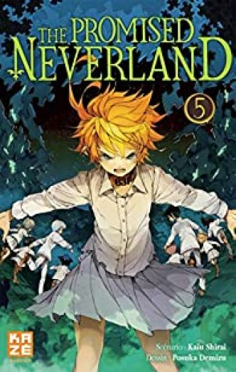 The Promised Neverland, tome 5 par  Demizu-P+Shirai-K