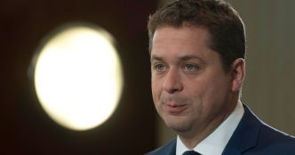 Andrew Scheer: pas de remise en question de son leadership avant avril
