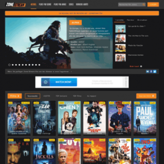 Zone streaming   Streaming Gratuit