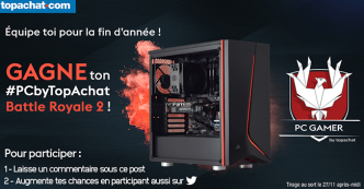 Tentez de remporter un PC Gamer de 1315€