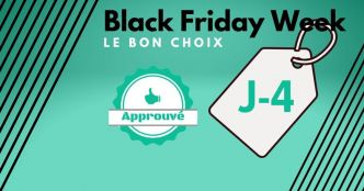 Avant le Black Friday, les meilleures promos de la Black Friday Week ce lundi