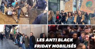 """Block Friday"": les images des manifestations partout en France"