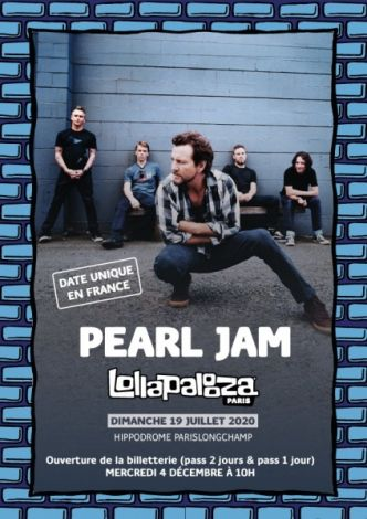Le grand retour de Pearl Jam en France