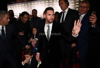 Lionel Messi remporte son 6e Ballon d'Or, record absolu