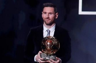 Messi sacré Ballon d'or 2019, Aubameyang 20e