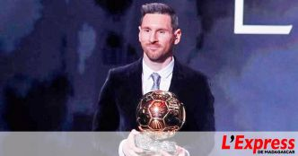 Football – Messi remporte son sixième Ballon d'Or