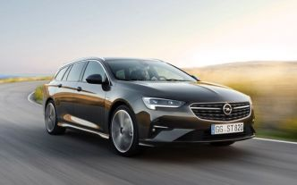 Opel Insignia 2020 : facelift light
