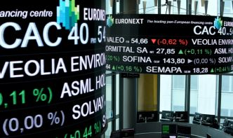 La Bourse de Paris se cramponne à l'optimisme commercial (+0,37%)