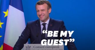 "Brexit: Macron lance à Johnson un ""Be my guest"" sur un accord commercial"