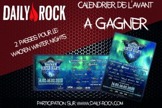 Concours : Calendrier de l'Avent – Wacken Winter Nights 2020