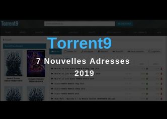 Torrent9 Nouvelle Adresse 2019 - Actu-solutions.com