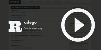 Radego — Site De Streaming