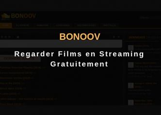 Bonoov : Regarder Films en Streaming Gratuit Sans Pub - Actu-solutions.com