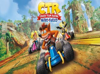 Crash Team Racing Nitro-Fueled s'anime…