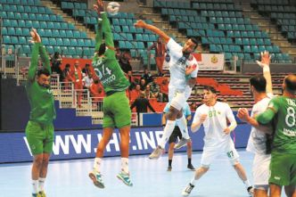 CAN de handball : Le Sept national s'incline devant l'Algérie et hérite de la Tunisie au tour principal