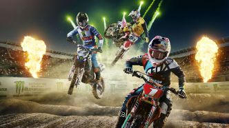 Monster Energy Supercross 3 pilote au féminin