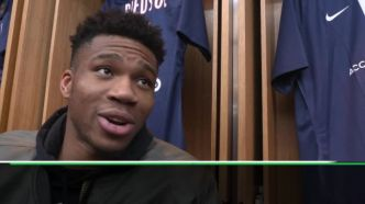 Basket - NBA - Giannis Antetokounmpo (Milwaukee Bucks) : « Je suis un grand fan du PSG »
