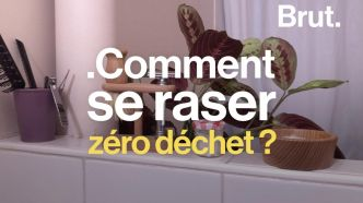 VIDEO. Tuto : Comment se raser zéro déchet ?