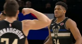 Les notes du NBA Paris Game : Giannis Antetokounmpo cartonne devant Eric Maxim Choupo-Moting, le titre le plus improbable de l'année